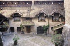zamek chillon Zdjęcie Royalty Free