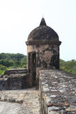 zamek De San Fernando omoa zdjęcia stock