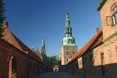 zamek Denmark Frederiksborg Hillerod Obrazy Royalty Free