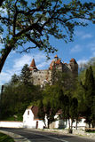 zamek Dracula obraz royalty free