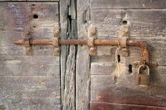zamek drzwi Zdjęcia Stock