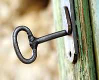zamek drzwi Obraz Stock
