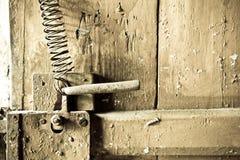 zamek drzwi Zdjęcie Royalty Free