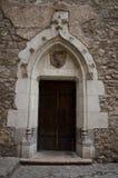zamek drzwi średniowieczny Obraz Stock