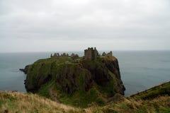 zamek dunnottar Zdjęcia Royalty Free