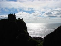zamek dunnottar Scotland Zdjęcie Stock