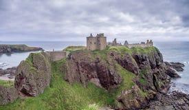 zamek dunnottar Scotland Fotografia Stock