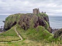 zamek dunnottar Scotland Zdjęcie Royalty Free