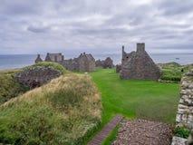 zamek dunnottar Scotland Obraz Royalty Free