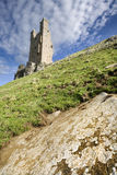 zamek dunstanburgh Zdjęcie Royalty Free