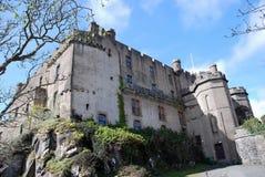 zamek dunvegan fotografia royalty free