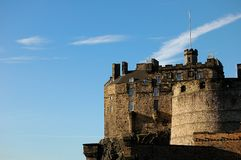 zamek Edinburgh Zdjęcia Royalty Free