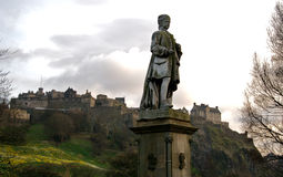 zamek Edinburgh Fotografia Royalty Free