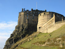 zamek Edinburgh Obraz Stock