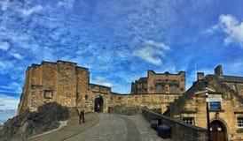 zamek Edinburgh królestwie Scotland united zdjęcia royalty free