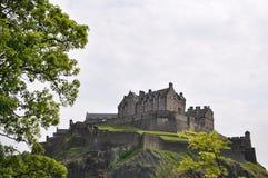 zamek Edinburgh królestwie Scotland united Obraz Royalty Free