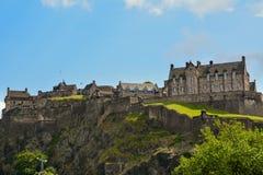 zamek Edinburgh królestwie Scotland united Zdjęcia Stock