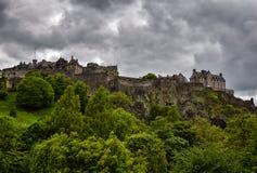 zamek Edinburgh królestwie Scotland united Obrazy Stock