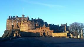 zamek Edinburgh królestwie Scotland united Fotografia Stock