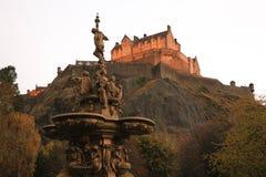 zamek Edinburgh królestwie Scotland united Zdjęcie Stock