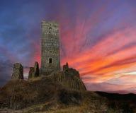 zamek gothic Zdjęcia Royalty Free