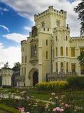 zamek hluboka Fotografia Stock