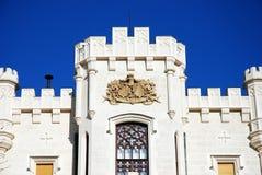 zamek hluboka Fotografia Royalty Free