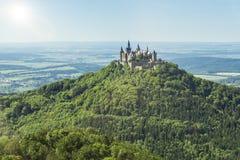 zamek hohenzollern Obraz Royalty Free