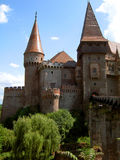 zamek hunedoara obrazy stock