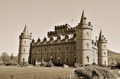 zamek inveraray Zdjęcie Stock