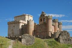 zamek jest bocian Zdjęcia Royalty Free