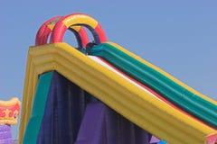 zamek jumping Zdjęcie Royalty Free