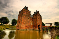 zamek kąta widok szeroki Obraz Stock
