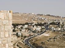 zamek karak al Jordan Obrazy Royalty Free