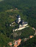 zamek karlstejn zdjęcie royalty free