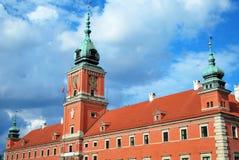 zamek królewski Warsaw Obrazy Royalty Free
