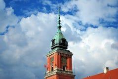 zamek królewski Warsaw Zdjęcia Stock