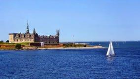 zamek kronborg Zdjęcia Royalty Free