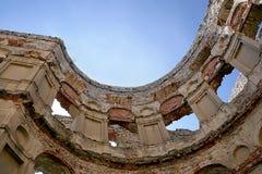 zamek krzyztopor Zdjęcia Royalty Free