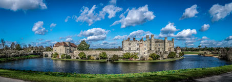 zamek Leeds Zdjęcie Royalty Free