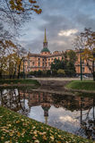 zamek mikhailovsky Zdjęcia Stock