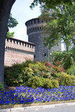 zamek Milan Zdjęcia Stock