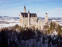 zamek Neuschwanstein Fotografia Stock