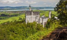 zamek Neuschwanstein Obraz Royalty Free