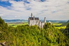 zamek Neuschwanstein Obrazy Stock
