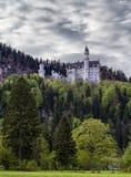 zamek Neuschwanstein Obrazy Royalty Free