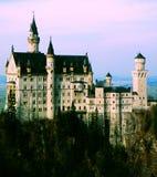 zamek Neuschwanstein Fotografia Royalty Free