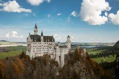 zamek Neuschwanstein Zdjęcia Royalty Free