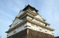 zamek Osaka Fotografia Stock