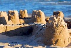 zamek piasku Zdjęcie Stock
